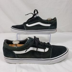 Vans suede low top skater shoes sz 12